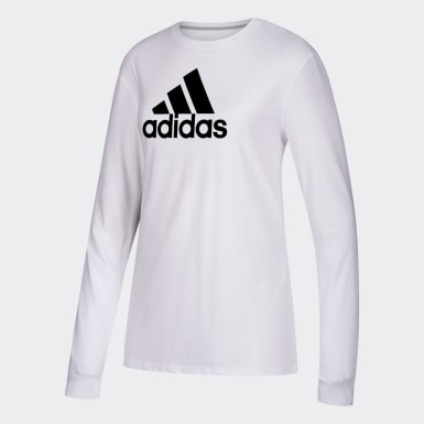 Women's Sport Inspired White W LS GTP T