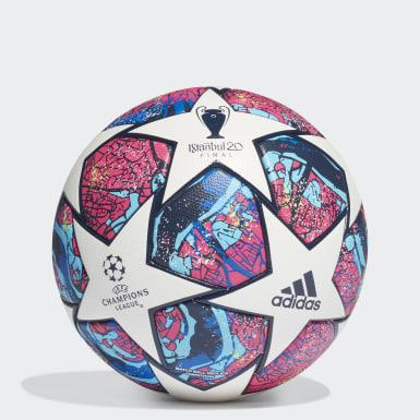 Men's Soccer White UCL Finale Istanbul Competition Ball