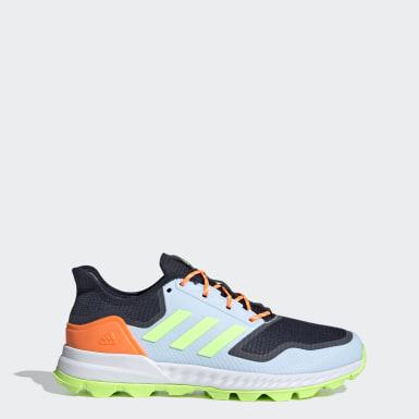 Sapatos de Hóquei Adipower Azul Hóquei Em Campo