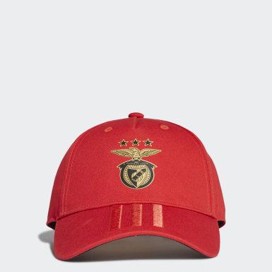 Boné Benfica Vermelho Futebol