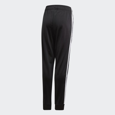 Youth 8-16 Years Originals Black SST Tracksuit Bottoms