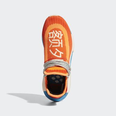 Heren Originals Oranje Hu NMD Schoenen
