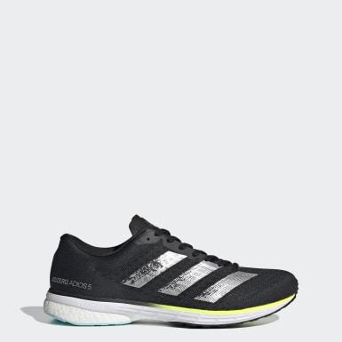 Men Running Black Adizero Adios 5 Shoes