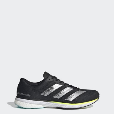 Men Running Black Adizero Adios 5 Shoes