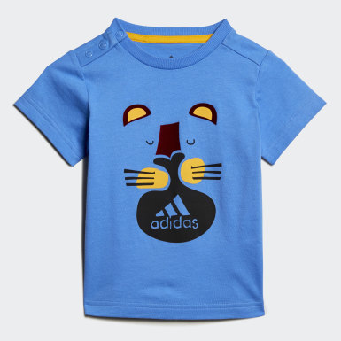 Boys Training Blue Summer Set