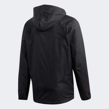 Casaca ID WND Fleece-Lined Negro Hombre Athletics