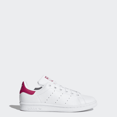 Girls Originals Vit Stan Smith Shoes