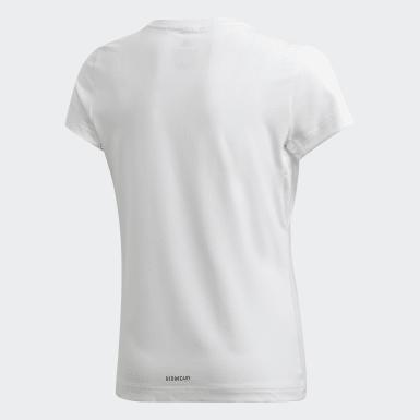 T-shirt AEROREADY Leo Graphic Bianco Ragazza Studio