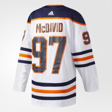 Hockey White Oilers McDavid Away Authentic Pro Jersey