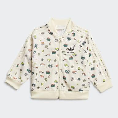 Kids Originals Beige Sushi Track Suit