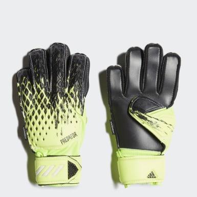 Kinderen Voetbal groen Predator 20 Match Fingersave Handschoenen