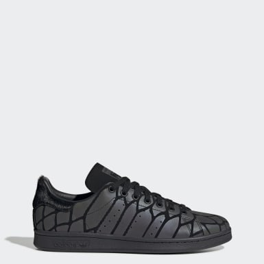 Women Originals Black Stan Smith Shoes