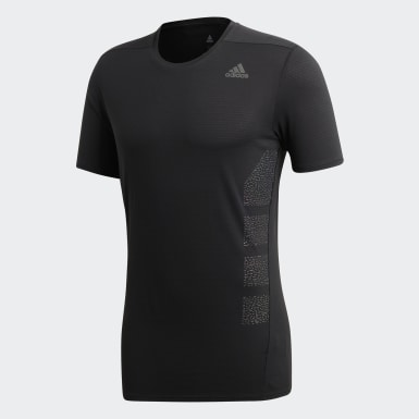 Camiseta Refletiva Supernova Preto Homem Running