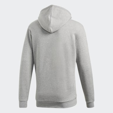 Sweat-shirt à capuche Trefoil Gris Hommes Originals