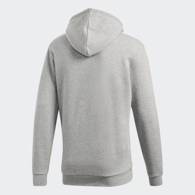 Men Originals Grey Trefoil Hoodie