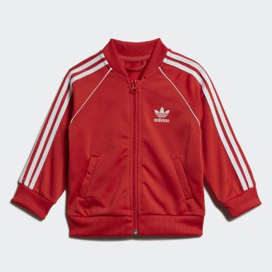 Infant & Toddler Originals Red SST Track Suit