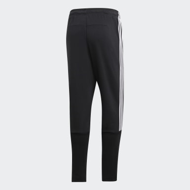 Pants Must Haves 3 Franjas Tiro Negro Hombre Athletics