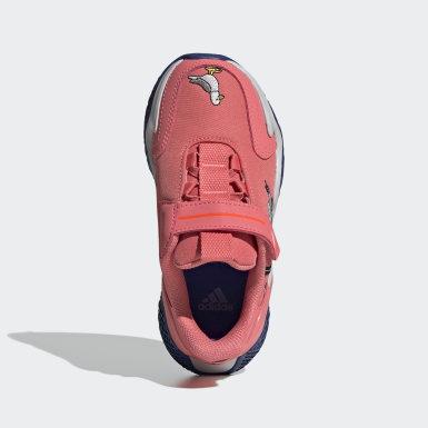 เด็ก วิ่ง สีแดง รองเท้า 4uture Runner Cleofus