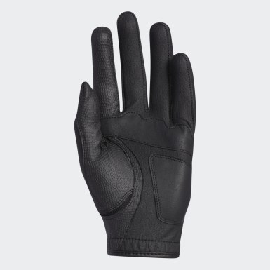 Men Golf Black Multifit Glove