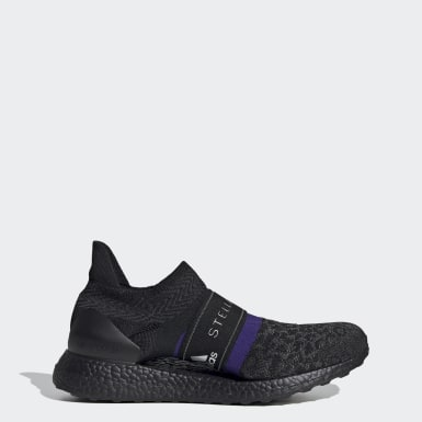 Women adidas by Stella McCartney Black adidas by Stella McCartney Ultraboost X 3D Knit Shoes