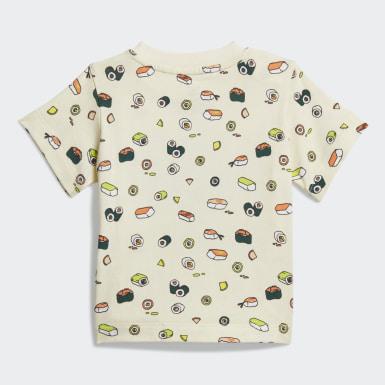 Kids Originals Beige T-Shirt