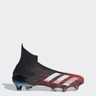 Botines de fútbol Predator Mutator 20+ césped natural húmedo Negro Hombre Fútbol