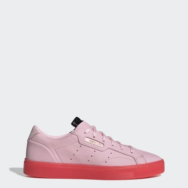 Ženy Originals ružová Tenisky adidas Sleek