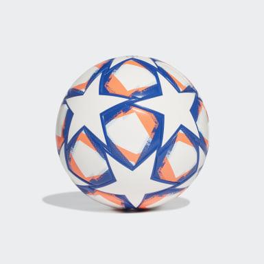 Børn Fodbold Hvid UCL Finale 20 Junior League 290 bold