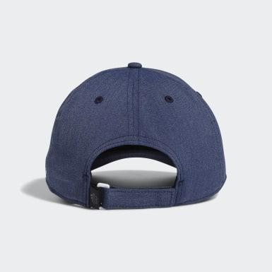 ผู้ชาย กอล์ฟ สีน้ำเงิน หมวกแก๊ป Laser Logo