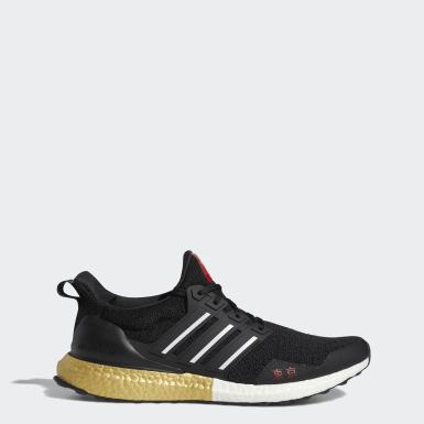Chaussure Ultraboost noir Course