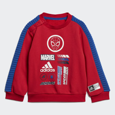 Infant Training Red Marvel Spider-Man Jogger Set