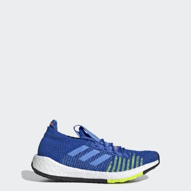 Chaussure Pulseboost HD bleu Adolescents Course