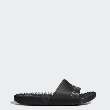 Women adidas by Stella McCartney Black Adissage Slides