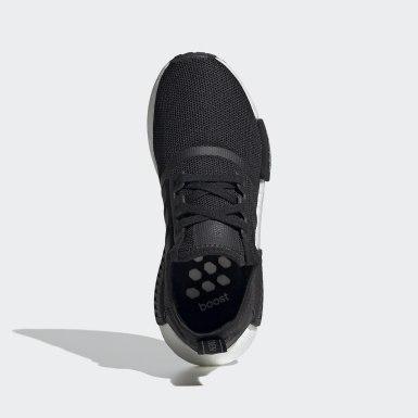 Genç Originals Siyah NMD_R1 Ayakkabı