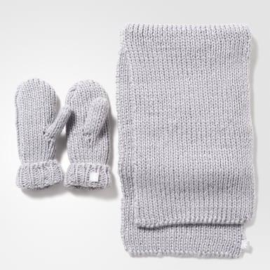 Комплект: шарф и варежки