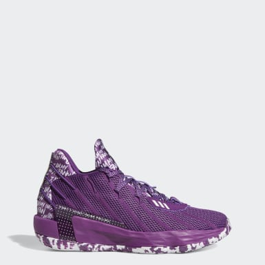 Basketball Purple Dame 7 I Am My Own Fan Shoes