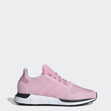 Women Originals Pink Swift Run Shoes