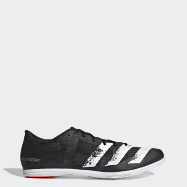 Men's Running Black Distancestar Spikes