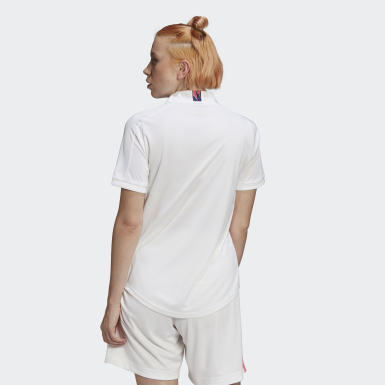 Jersey Local Real Madrid 20/21 Blanco Mujer Fútbol