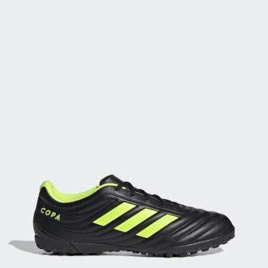 Men Football Black Copa 19.4 Turf Boots