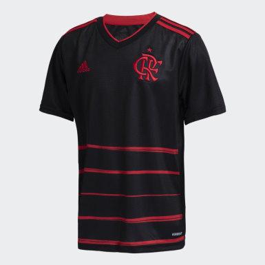 Camisa 3 CR Flamengo 20/21 Preto Meninos Futebol