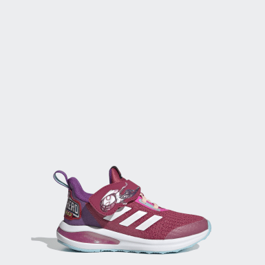 Kids 4-8 Years Running Pink FortaRun Super Hero Shoes