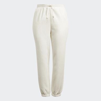 Pantaloni Cuffed Bianco Donna Originals