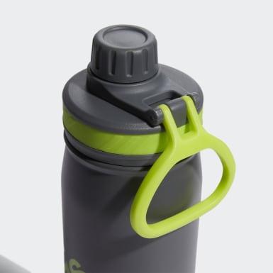 Hiking Grey Steel Bottle 600 ML