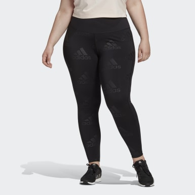 Women's Training Purple Believe This Glam On Long Tights (Plus Size)