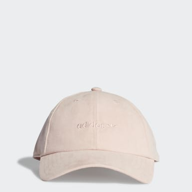 Gorra Premium Essentials Suede Baseball Rosa Originals