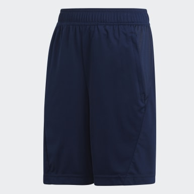 Boys Training Blue Training Equipment Shorts