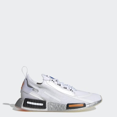 Men Originals White NMD_R1 Spectoo Shoes