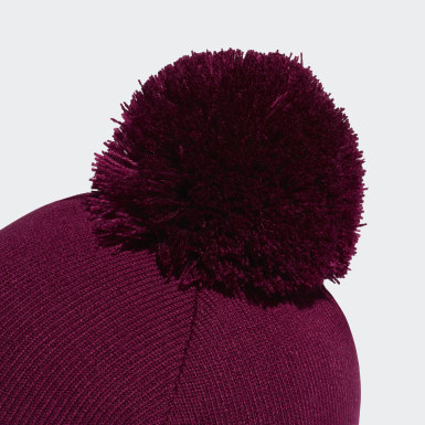 Bonnet Adicolor Bobble Burgundy Originals