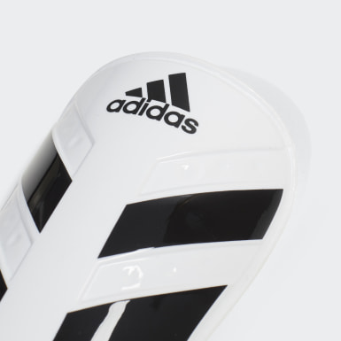 Football White Everlesto Shin Guards